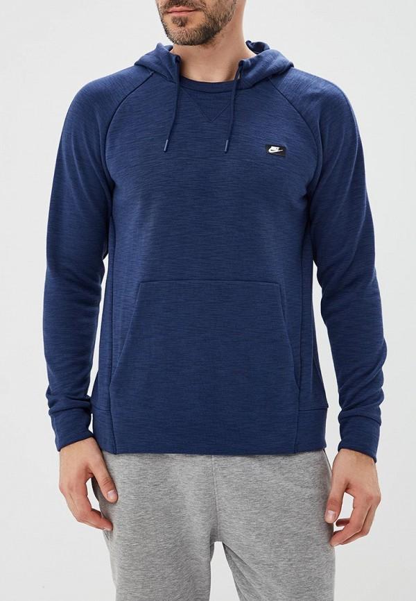 Купить Худи Nike, M NSW OPTIC HOODIE PO, NI464EMBWIG3, синий, Осень-зима 2018/2019