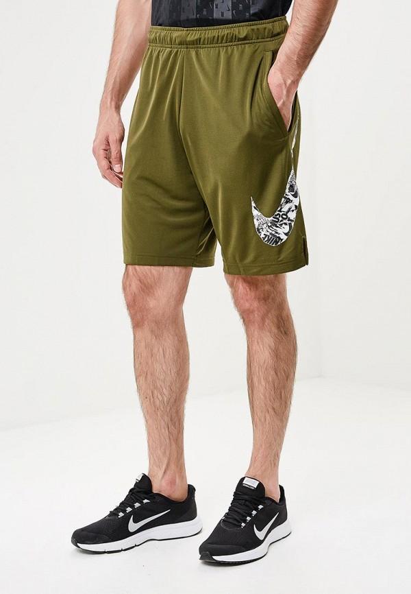 Купить Шорты спортивные Nike, Nike Dry Men's Training Shorts, ni464embwig6, хаки, Осень-зима 2018/2019