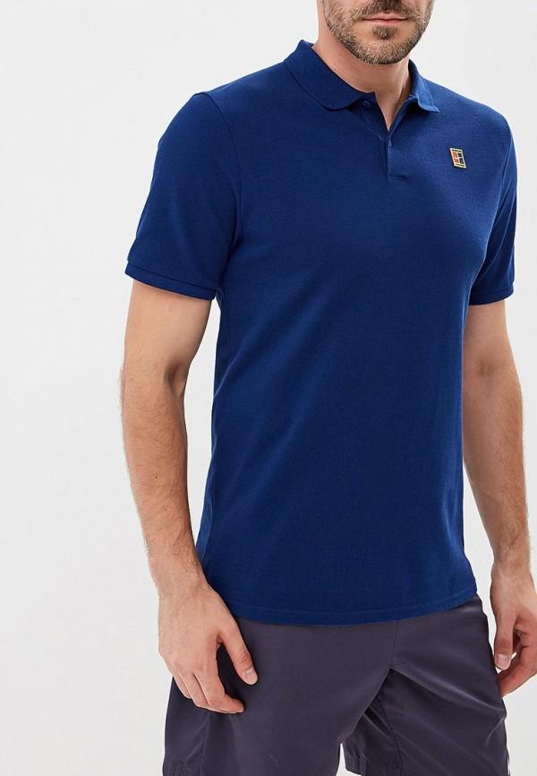 Купить Поло Nike, NikeCourt Men's Tennis Polo, NI464EMBWII8, синий, Осень-зима 2018/2019
