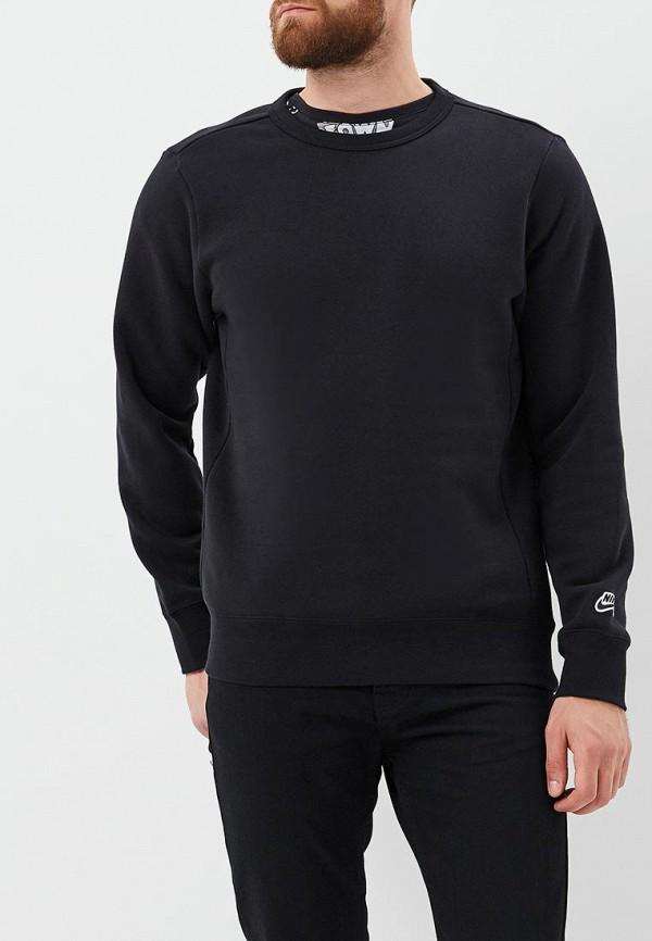 Фото 2 - Свитшот Nike черного цвета