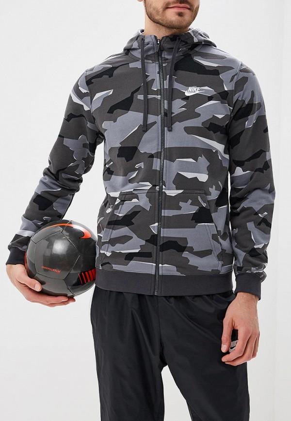 Фото - мужскую толстовку Nike серого цвета