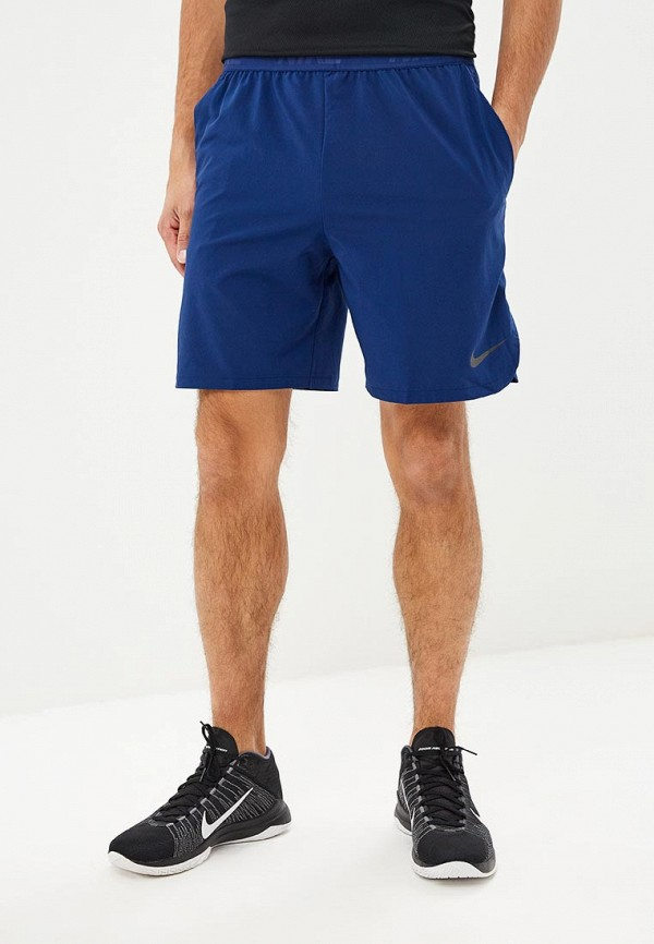Купить Шорты спортивные Nike, M NK FLX SHORT VENT MAX 2.0, ni464emcmir9, синий, Осень-зима 2018/2019