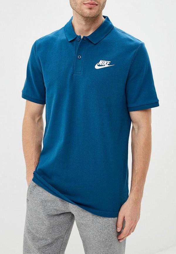 Купить Поло Nike, M NSW POLO MATCHUP PQ, ni464emcmjd0, синий, Осень-зима 2018/2019