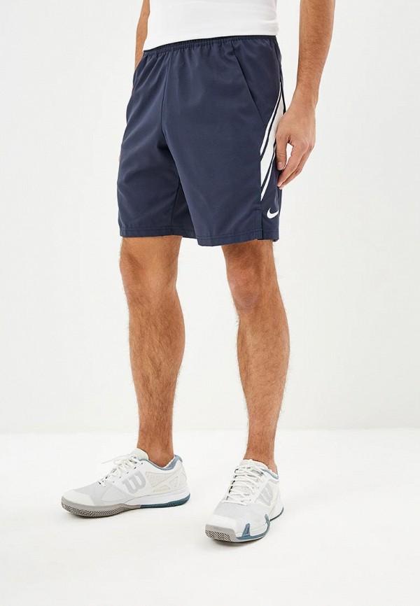 Купить Шорты спортивные Nike, M NKCT DRY SHORT 9IN, ni464emcmjp0, синий, Осень-зима 2018/2019