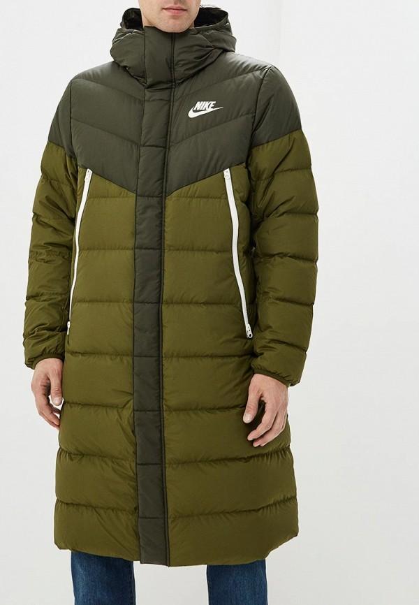 Купить Пуховик Nike, Sportswear Windrunner Men's Down Fill Parka, NI464EMCWJW1, хаки, Осень-зима 2018/2019