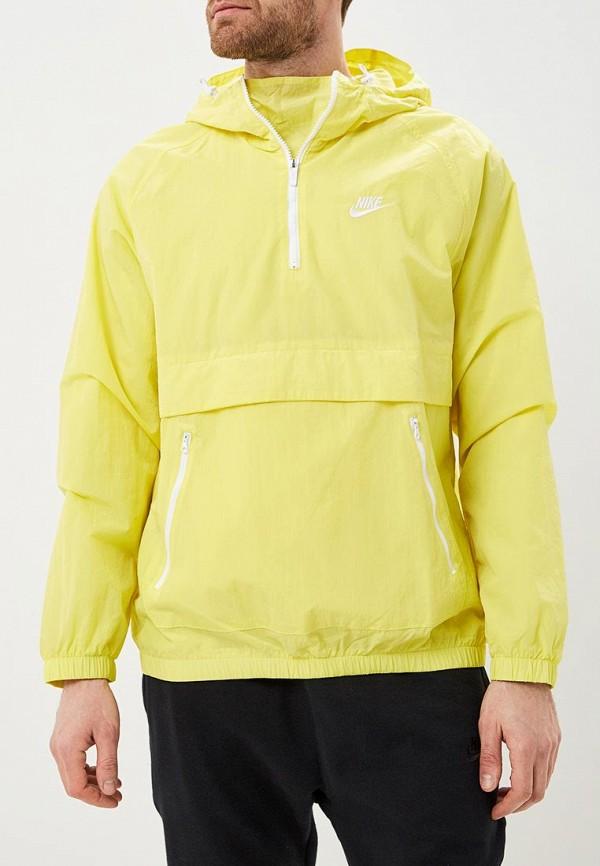 Купить Ветровка Nike, M NSW CE JKT HD WVN ANRK, ni464emdndc7, желтый, Весна-лето 2019