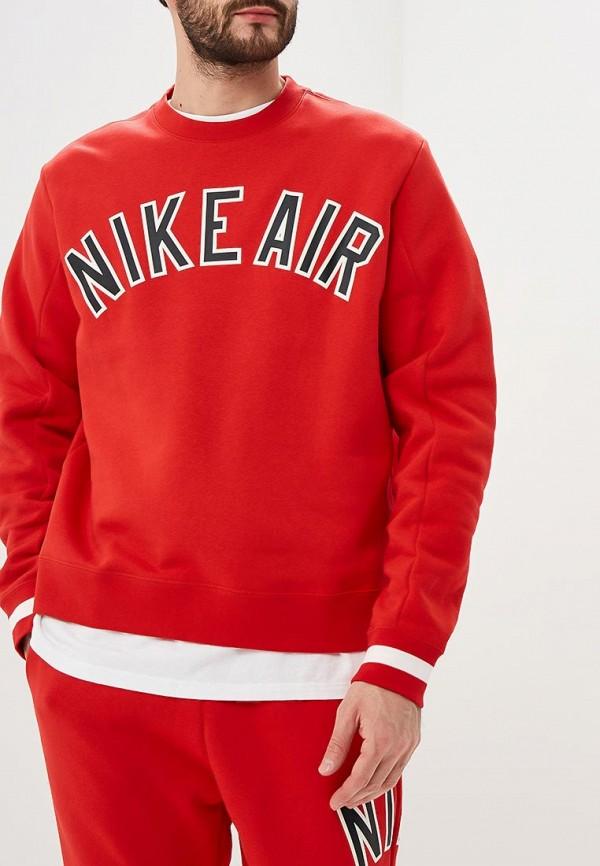 Купить Свитшот Nike, M NSW NIKE AIR CREW FLC, ni464emdndo4, красный, Весна-лето 2019