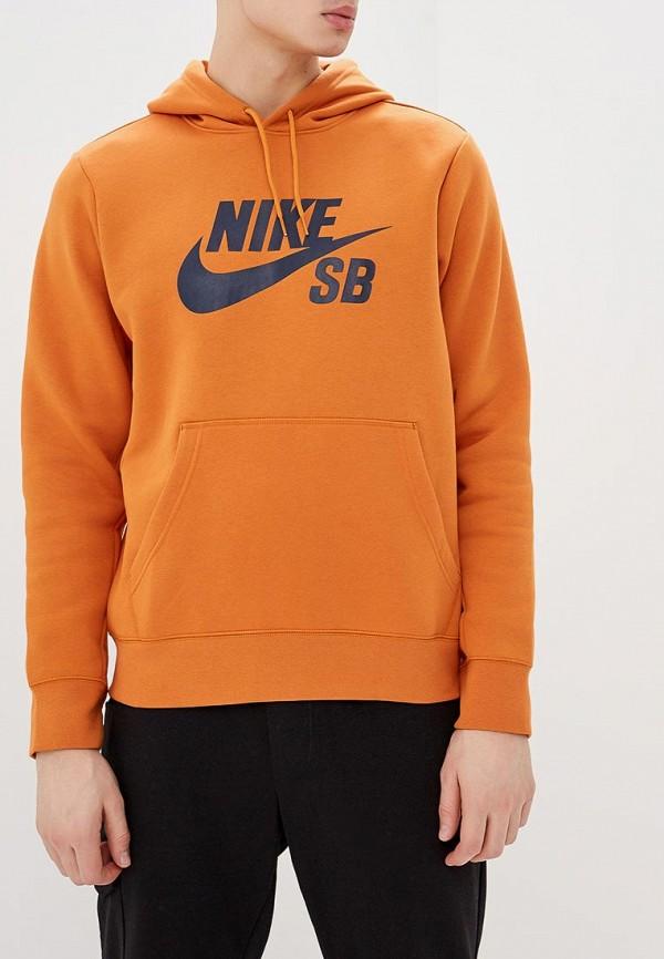 Купить Худи Nike, M NK SB ICON HOODIE PO ESSNL, ni464emdnem1, оранжевый, Весна-лето 2019