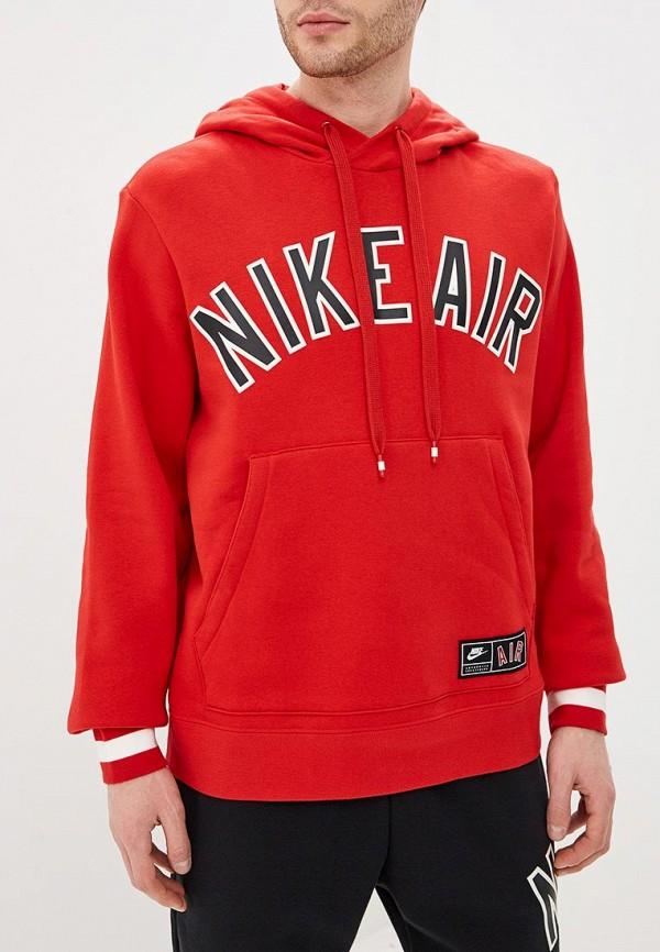 Фото 5 - Худи Nike красного цвета