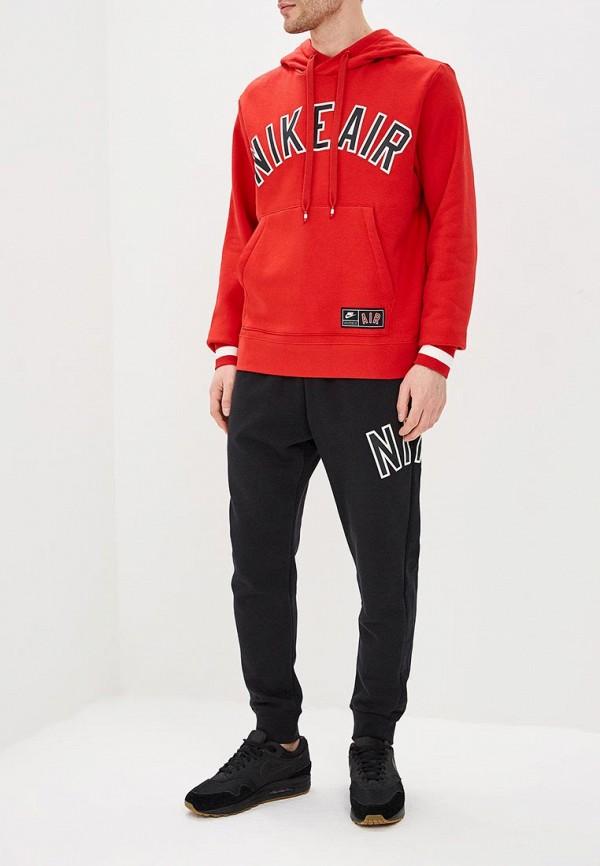 Фото 6 - Худи Nike красного цвета
