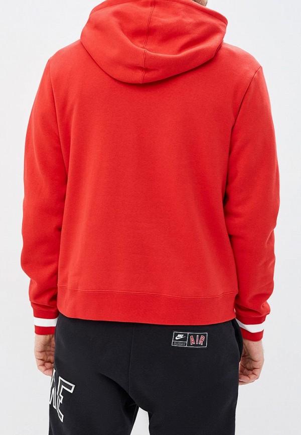 Фото 3 - Худи Nike красного цвета