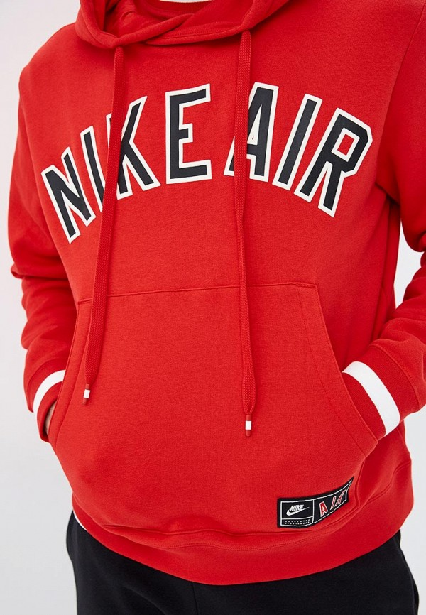 Фото 4 - Худи Nike красного цвета