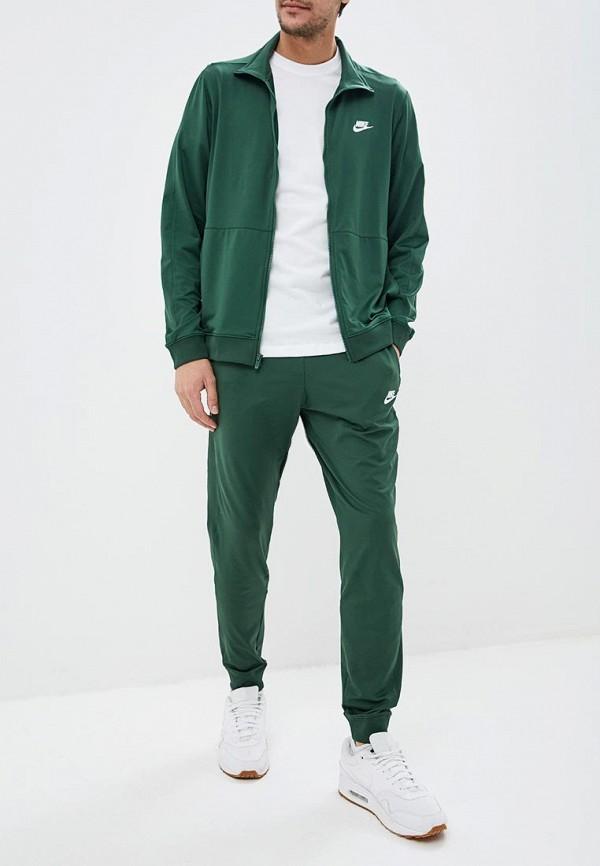 Купить Костюм спортивный Nike, M NSW CE TRK SUIT PK, ni464emdnfi1, зеленый, Весна-лето 2019