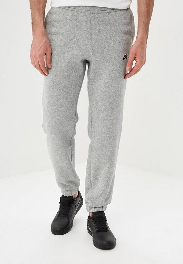 Купить Брюки спортивные Nike, M NK SB PANT ICON FLC ESSNTL, ni464emdnfm8, серый, Весна-лето 2019