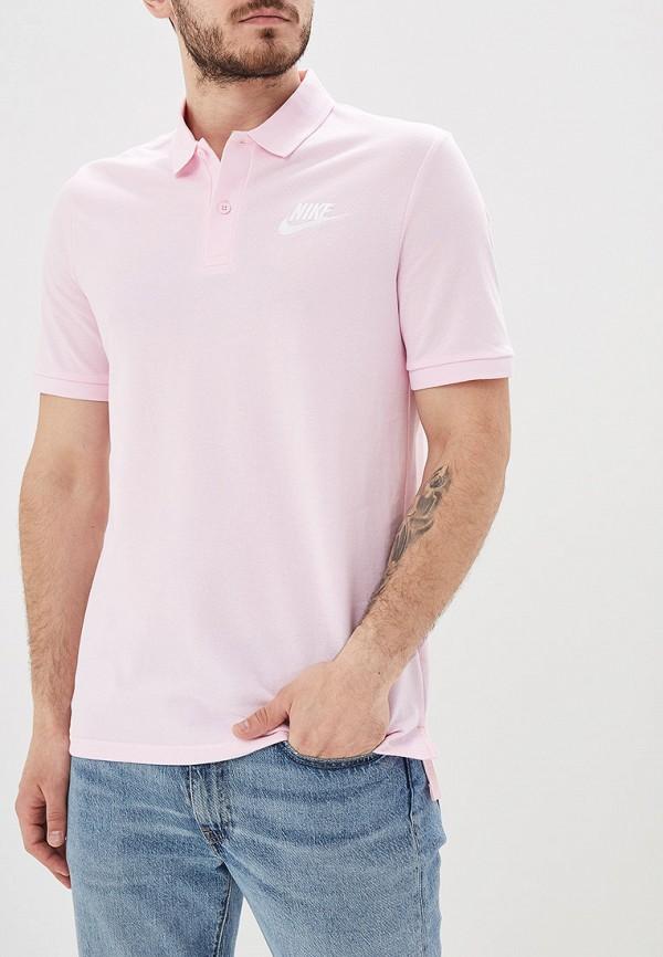 Фото - Поло Nike розового цвета