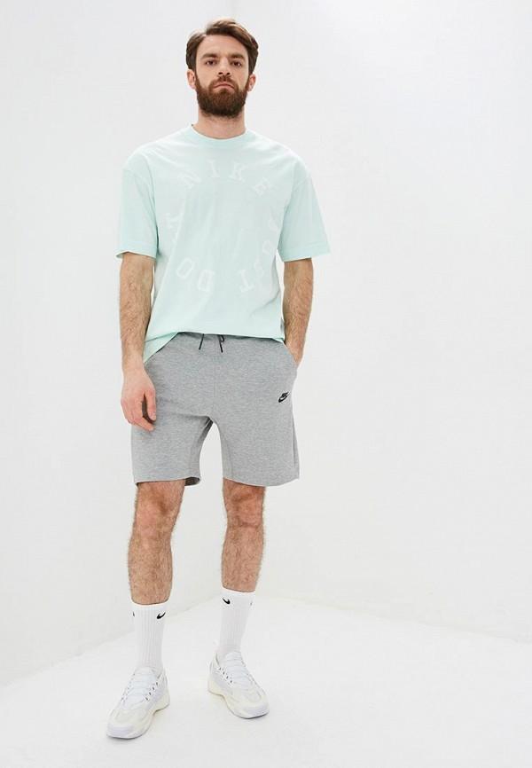 Фото 2 - мужскую футболку Nike бордового цвета