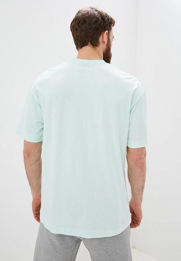 Фото 3 - мужскую футболку Nike бордового цвета