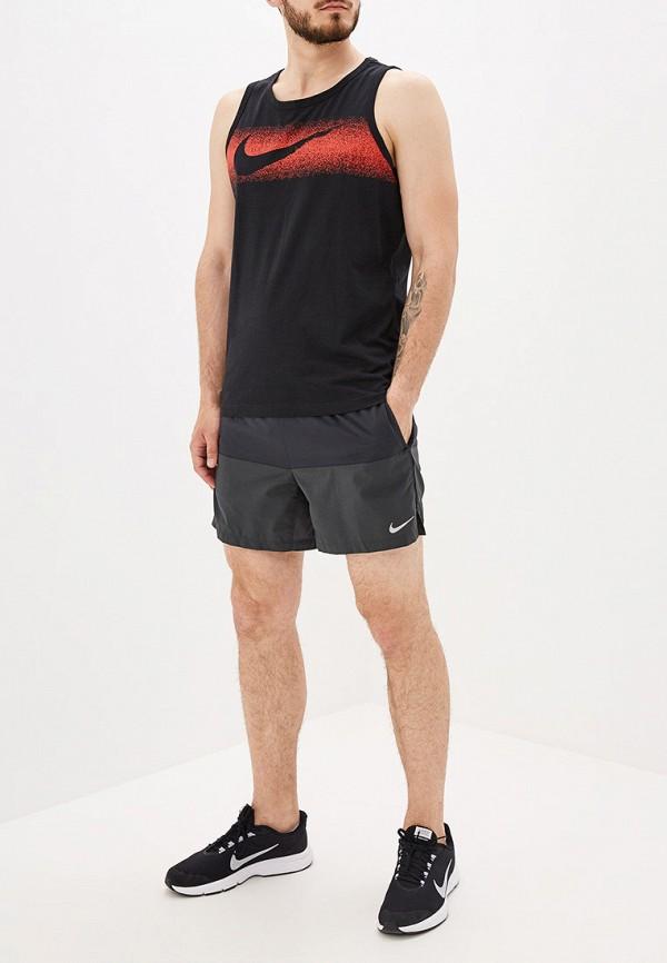 Фото 2 - мужскую майку Nike черного цвета