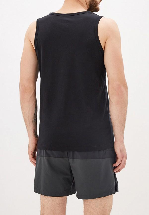 Фото 3 - мужскую майку Nike черного цвета