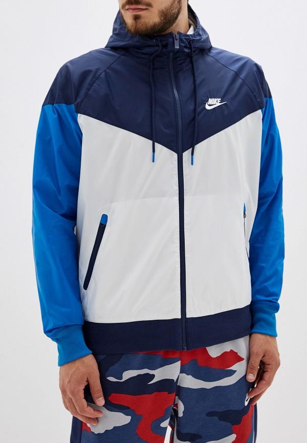 Фото - Ветровка Nike синего цвета