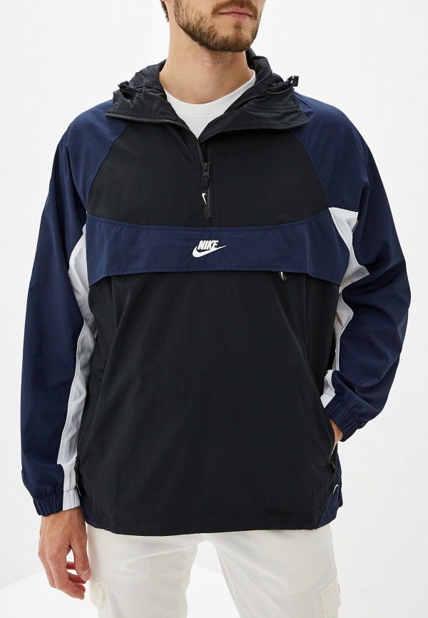 Купить Ветровка Nike, M NSW RE-ISSUE JKT HD WVN, ni464emflax1, черный, Осень-зима 2019/2020