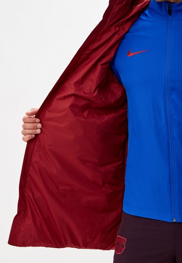 Фото 4 - Пуховик Nike бордового цвета