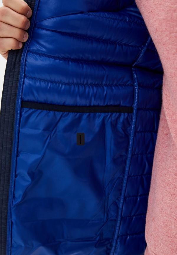 Фото 4 - мужской пуховик Nike синего цвета