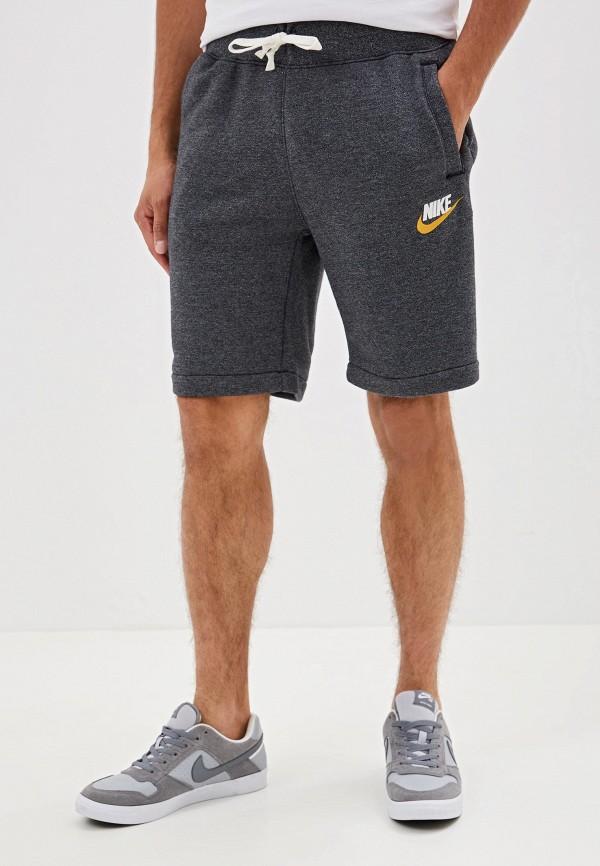 мужские спортивные шорты nike, серые
