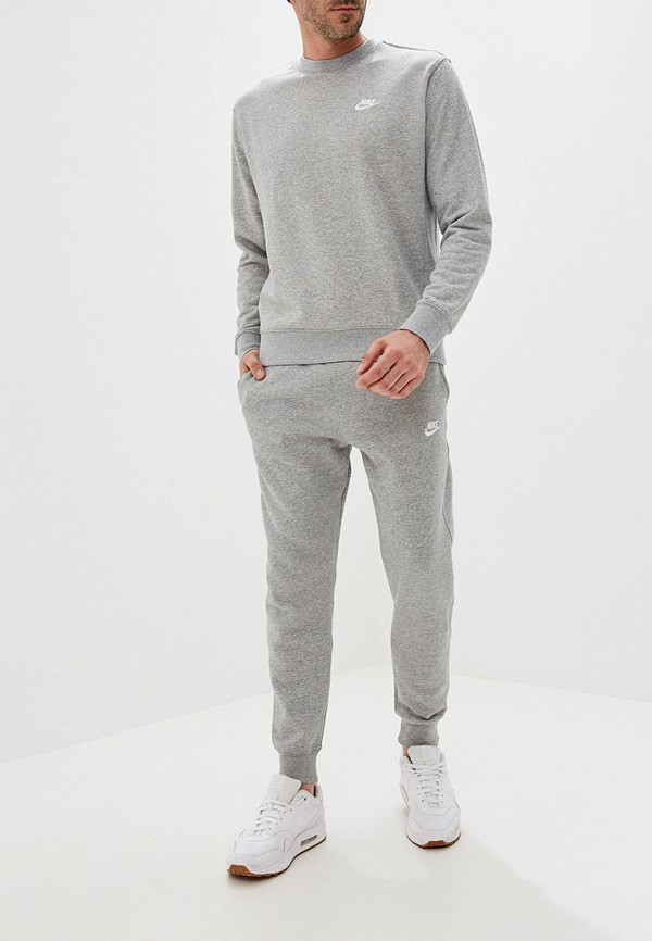 Фото 2 - Свитшот Nike серого цвета