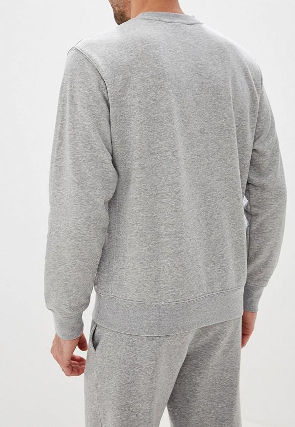 Фото 3 - Свитшот Nike серого цвета