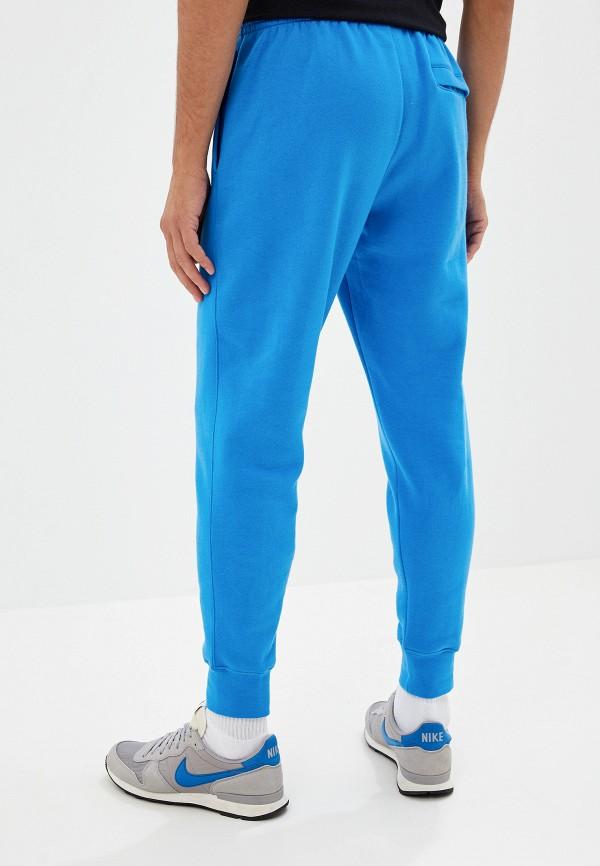 Фото 3 - Брюки спортивные Nike синего цвета