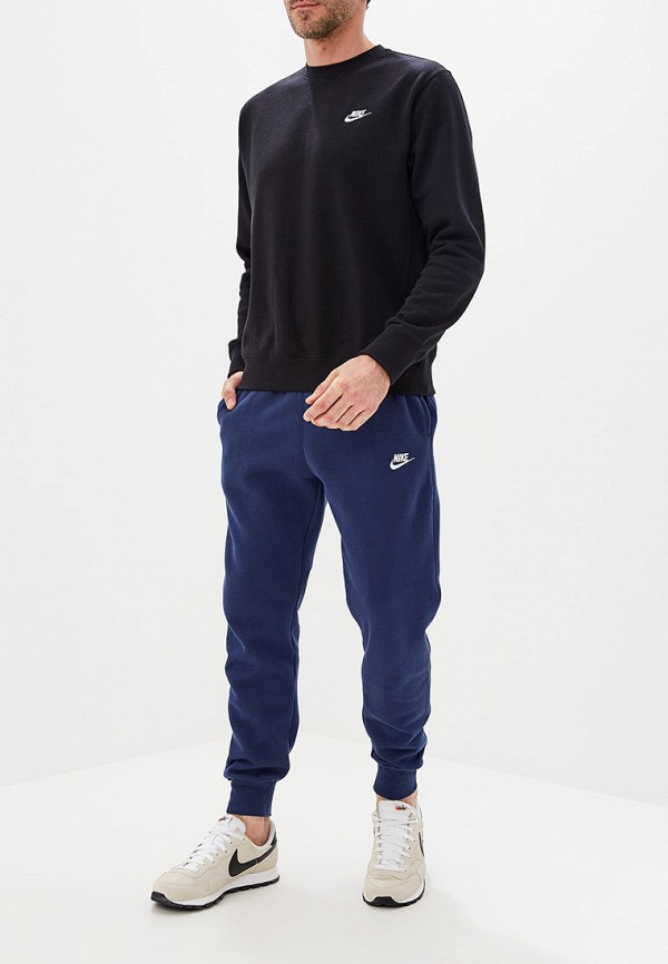 Фото 2 - Брюки спортивные Nike синего цвета