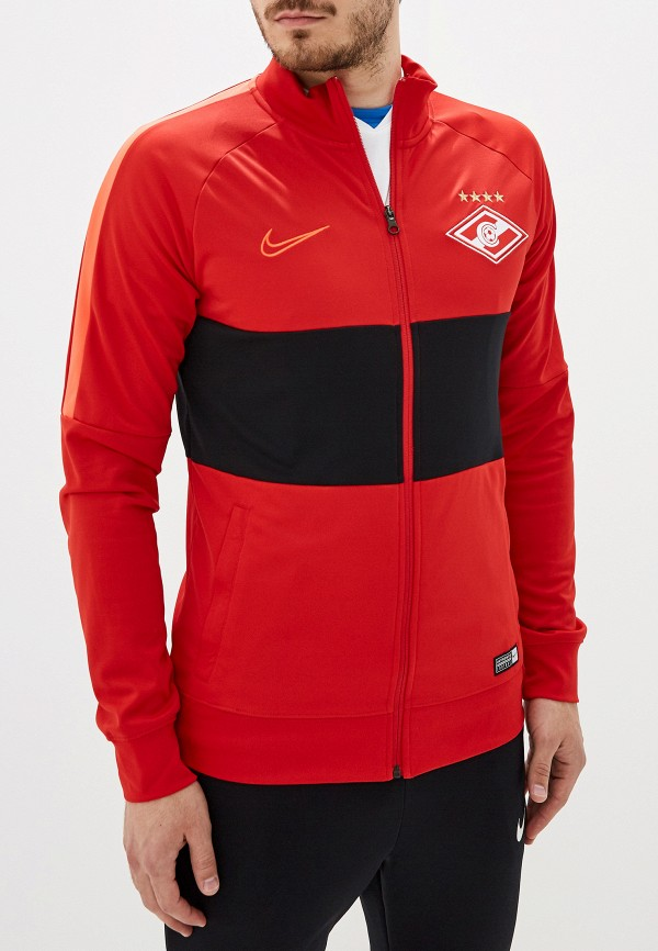 мужская олимпийка nike, красная