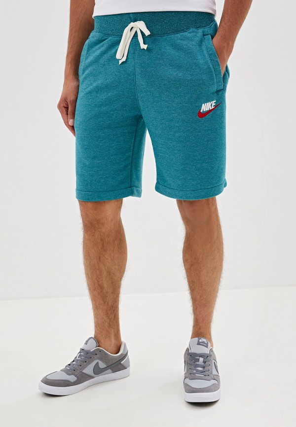 мужские шорты nike, бирюзовые