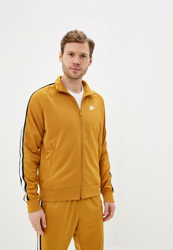мужская олимпийка nike, желтая