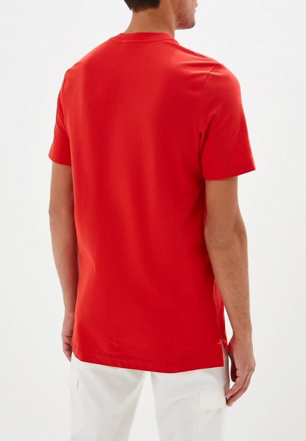 Фото 3 - Поло Nike красного цвета