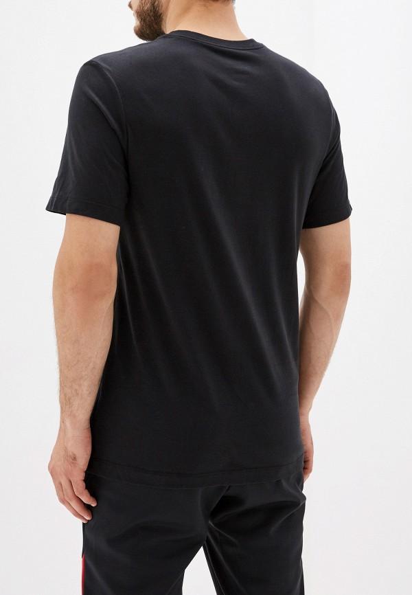 Фото 3 - мужскую футболку Nike черного цвета