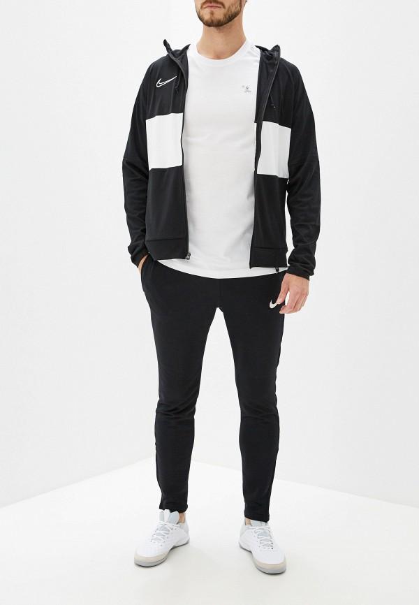 Фото 2 - мужскую футболку Nike белого цвета