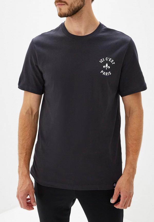 Фото - мужскую футболку Nike серебрянного цвета