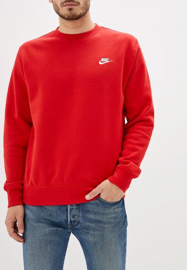 мужской свитшот nike, красный