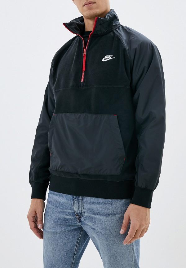 Фото - Олимпийка Nike черного цвета