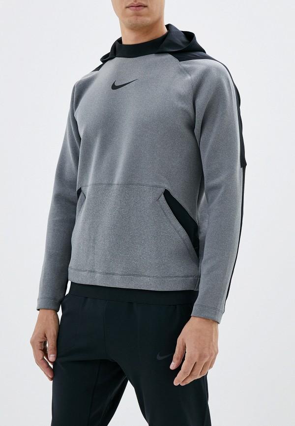 Фото - Худи Nike серого цвета
