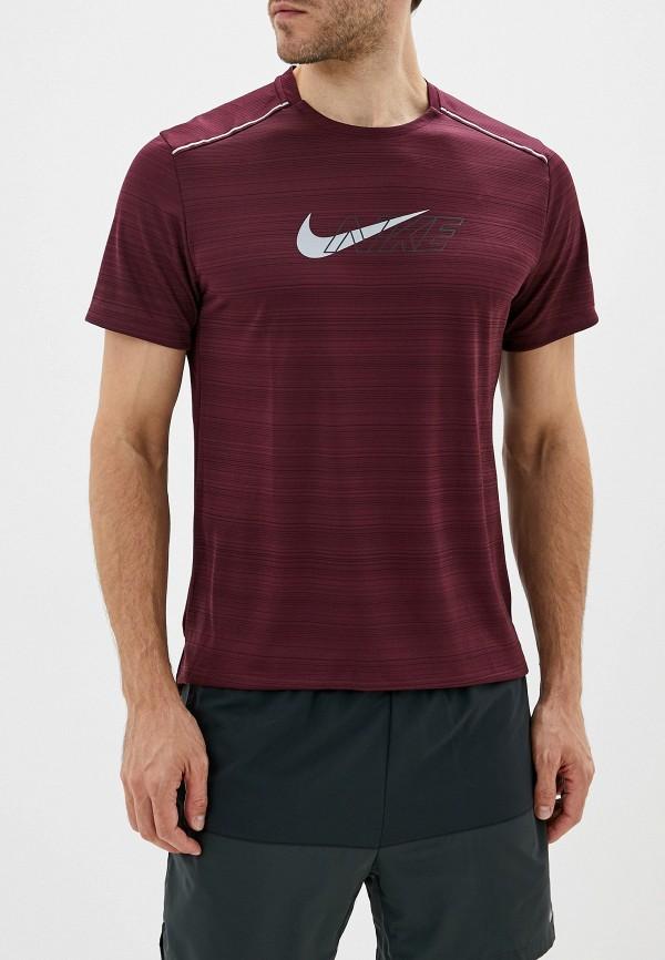 Фото - Футболку спортивная Nike бордового цвета