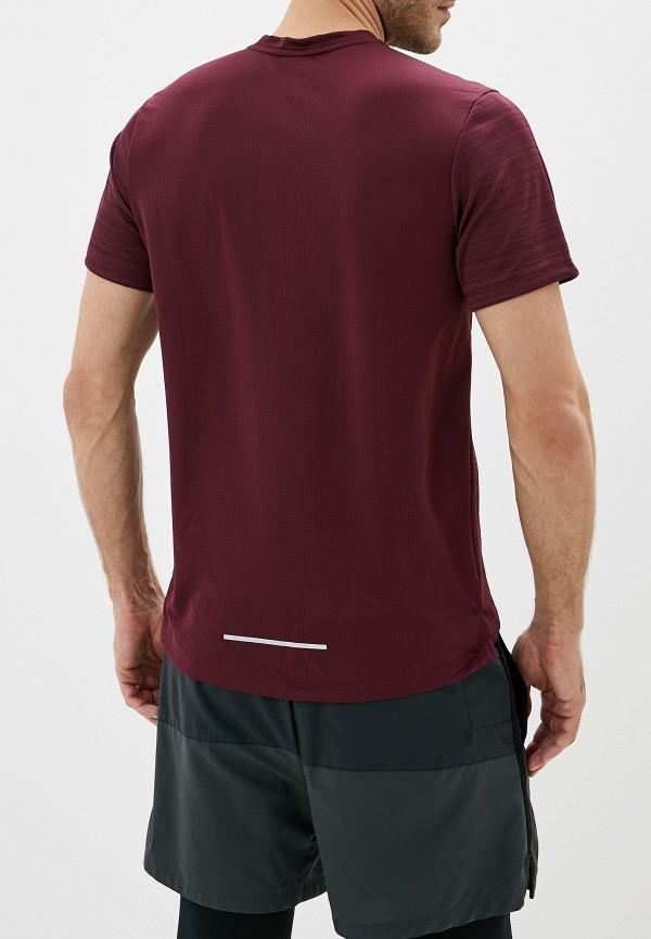 Фото 3 - Футболку спортивная Nike бордового цвета
