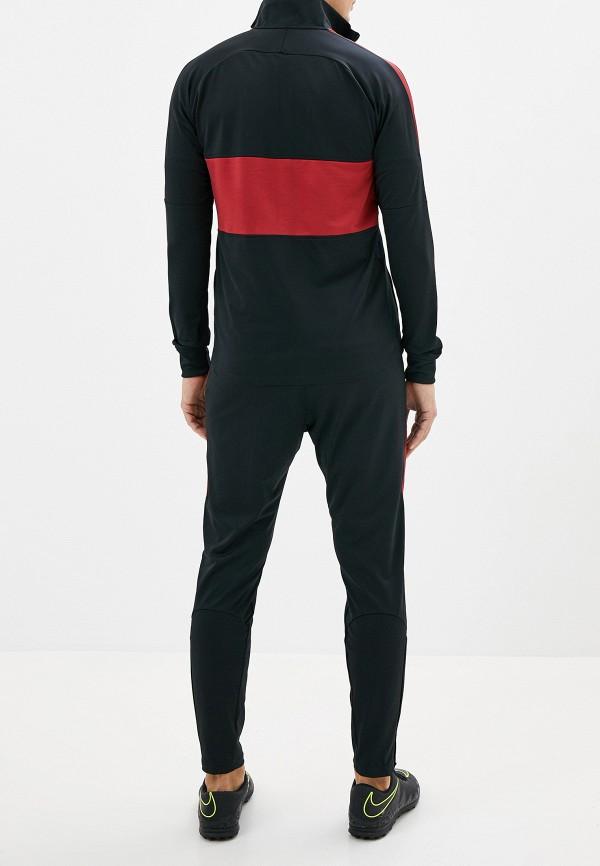 Фото 3 - Костюм спортивный Nike черного цвета