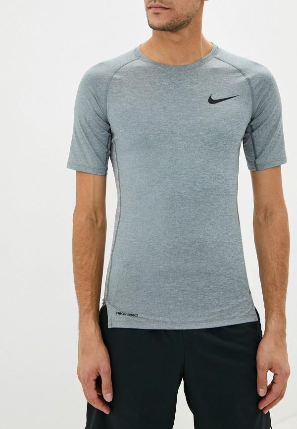 мужская футболка nike, серая