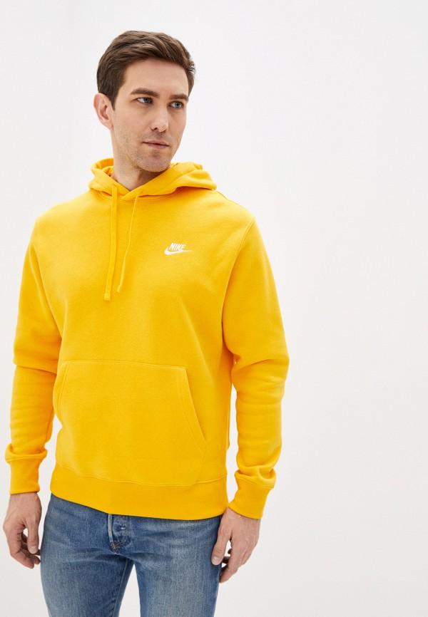 мужские худи nike, желтые