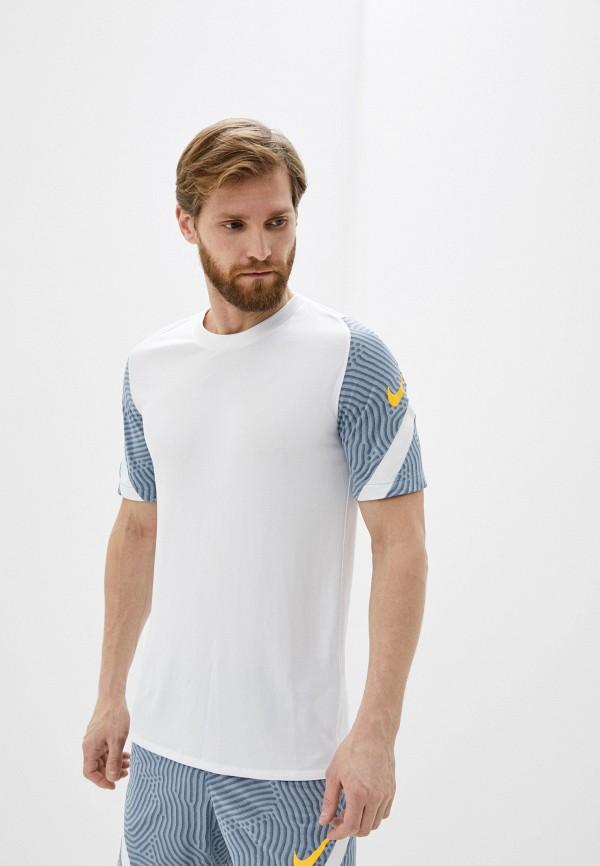 мужская спортивные футболка nike, голубая
