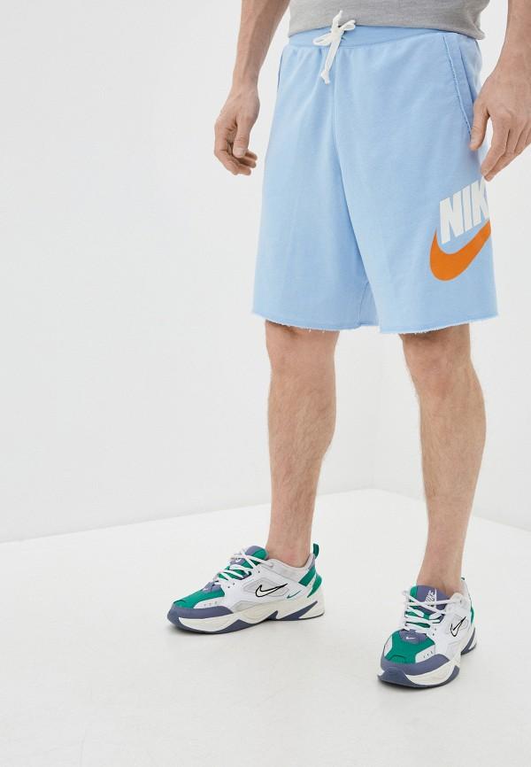 мужские спортивные шорты nike, голубые