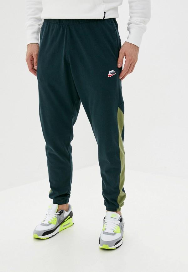 мужские спортивные брюки nike, зеленые